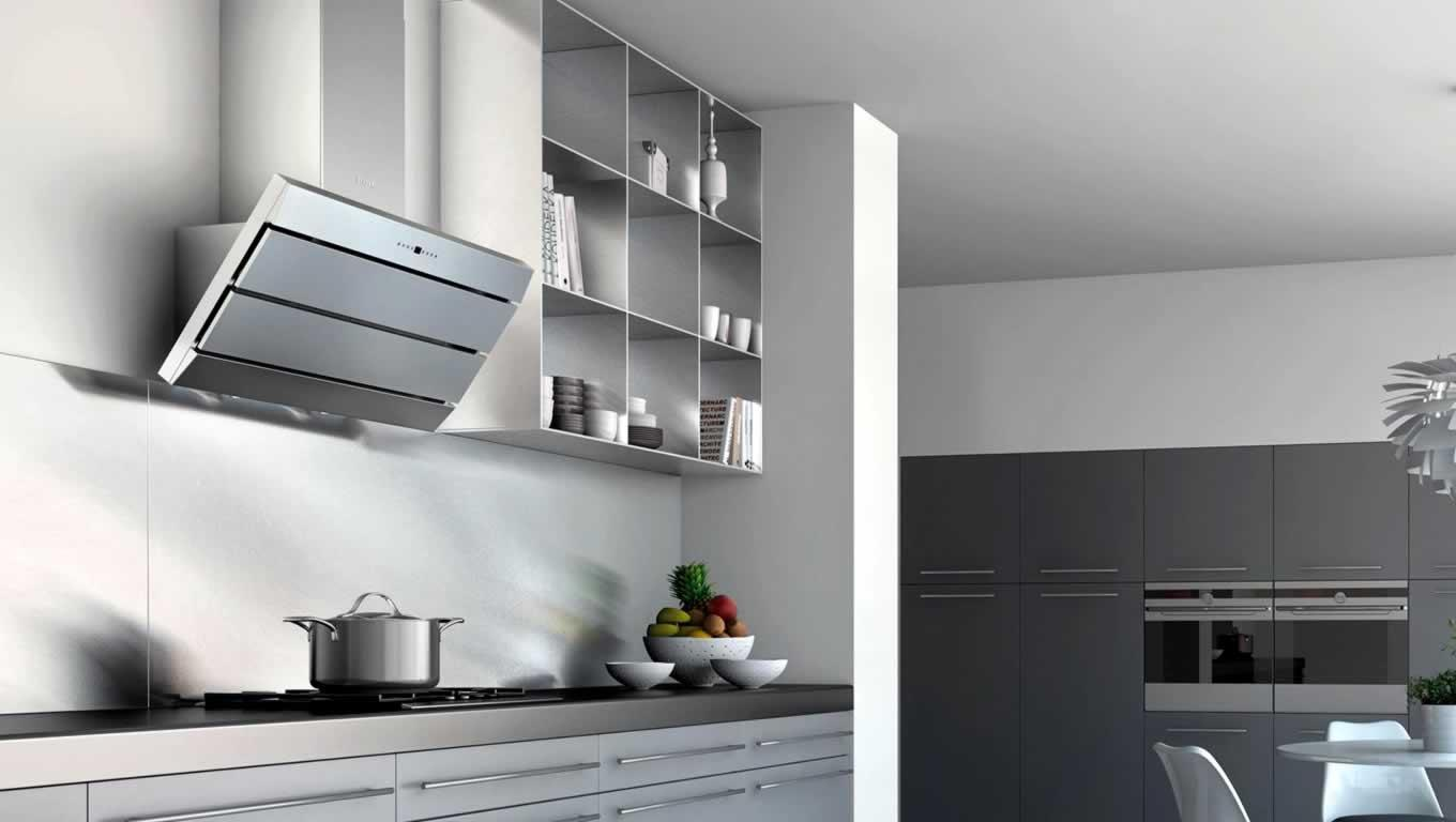 Image of: Modern Kitchen Range Hoods