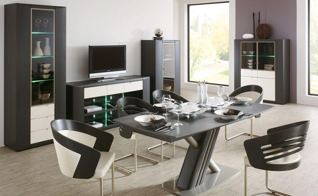 Image of: Modern Kitchen Table And Chairs Set
