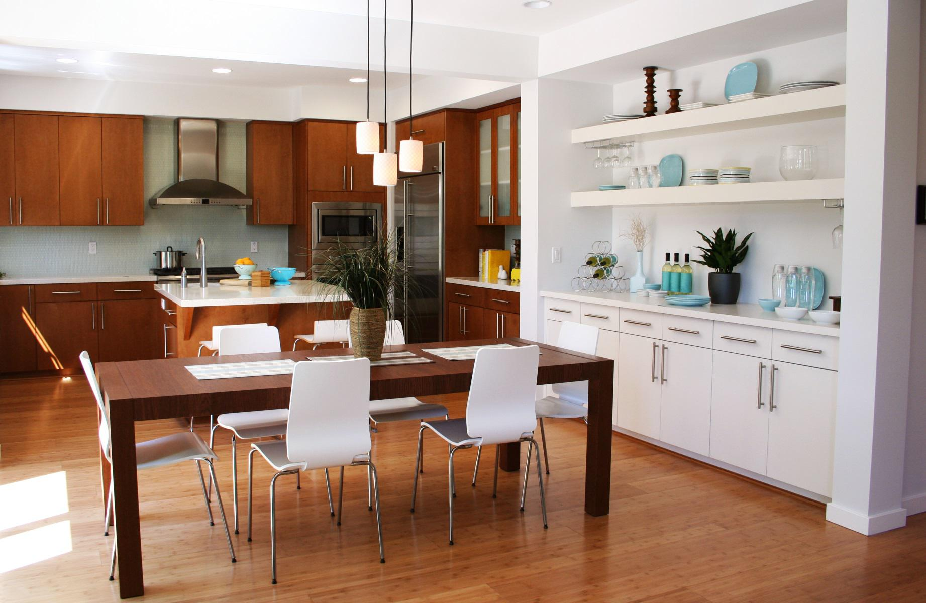 Image of: Modern Kitchen Table Sets