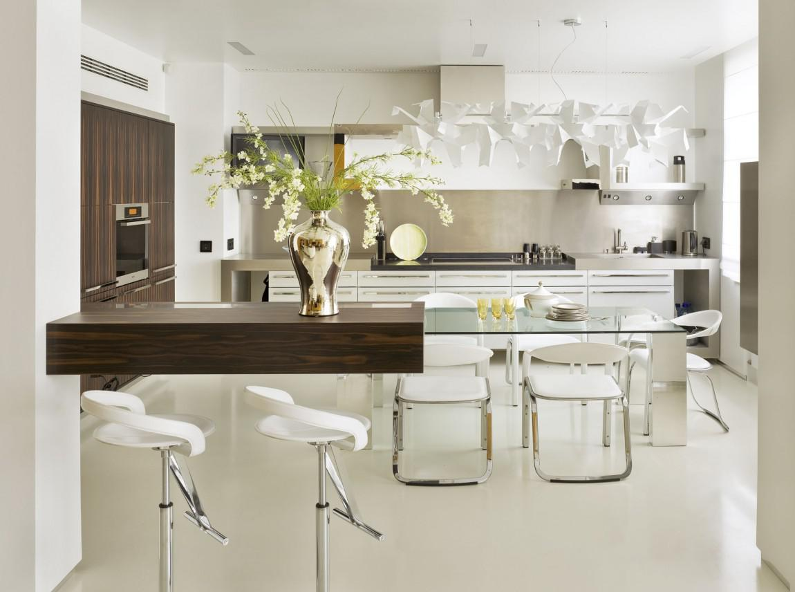 Image of: Modern Kitchen Table