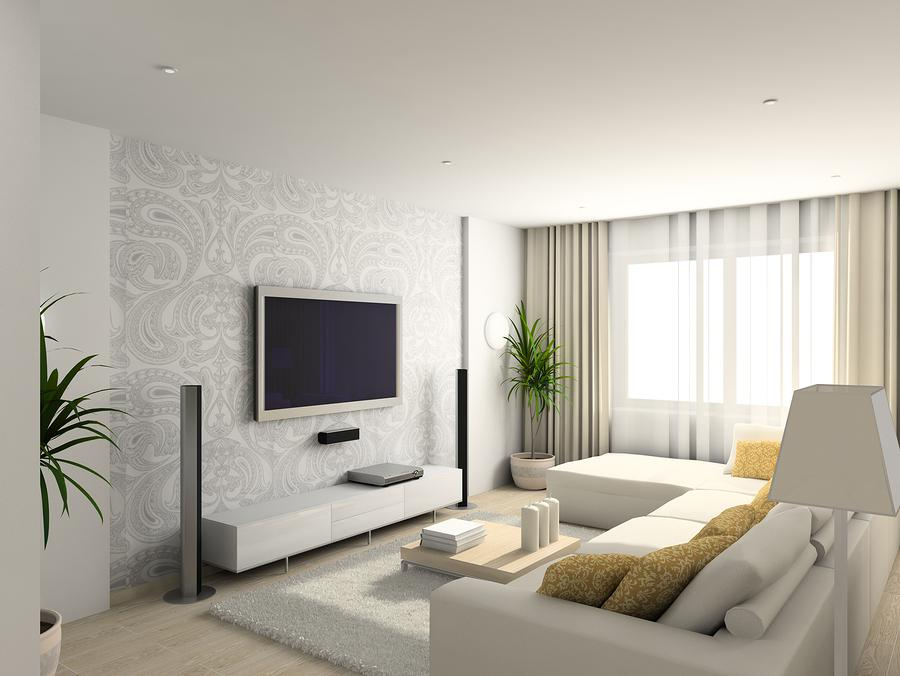 Image of: Modern Living Rooms On A Budget
