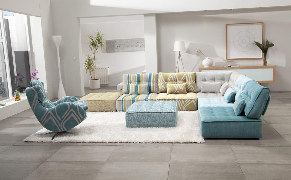 Image of: Modern Modular Sectionals