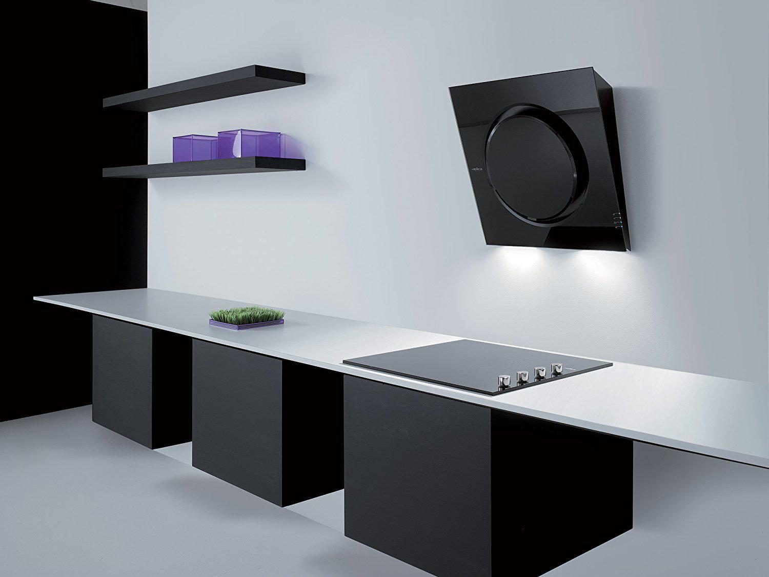 Image of: Modern Range Hood Design
