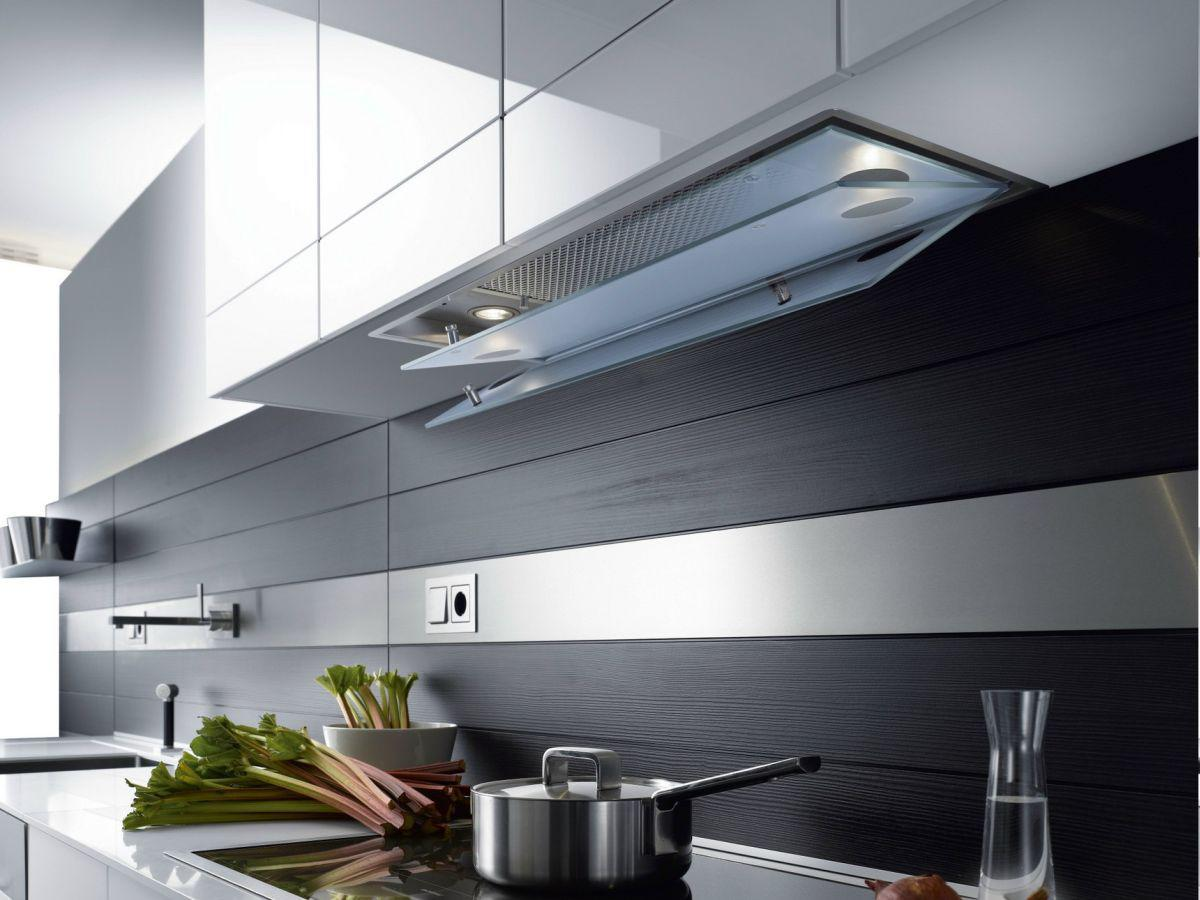 Image of: Modern Range Hood Ideas