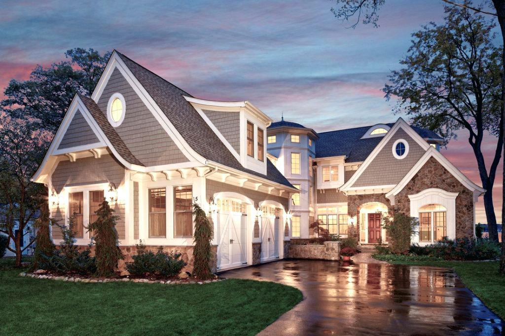 Image of: Modern Shingle Style House Plans Ideas
