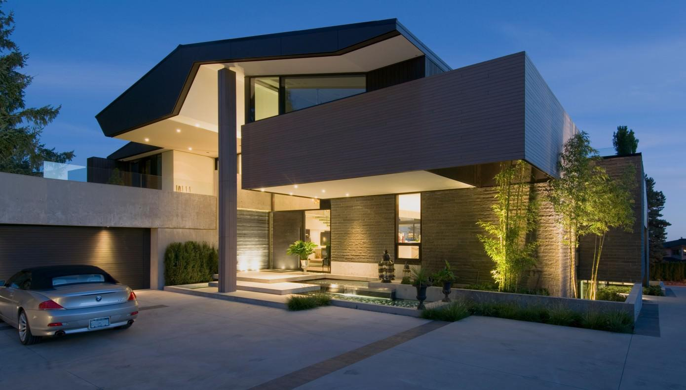 Image of: Modern Style Homes Design