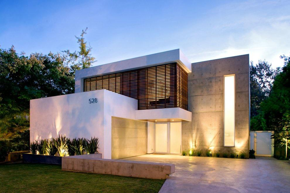 Image of: Modern Style House Exterior