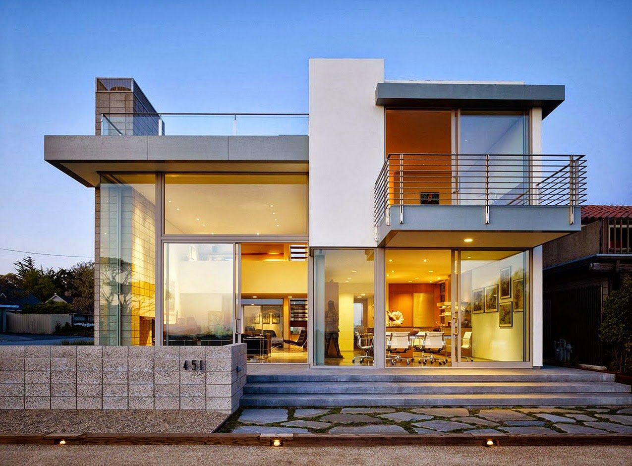 Image of: Modern Style House Plans