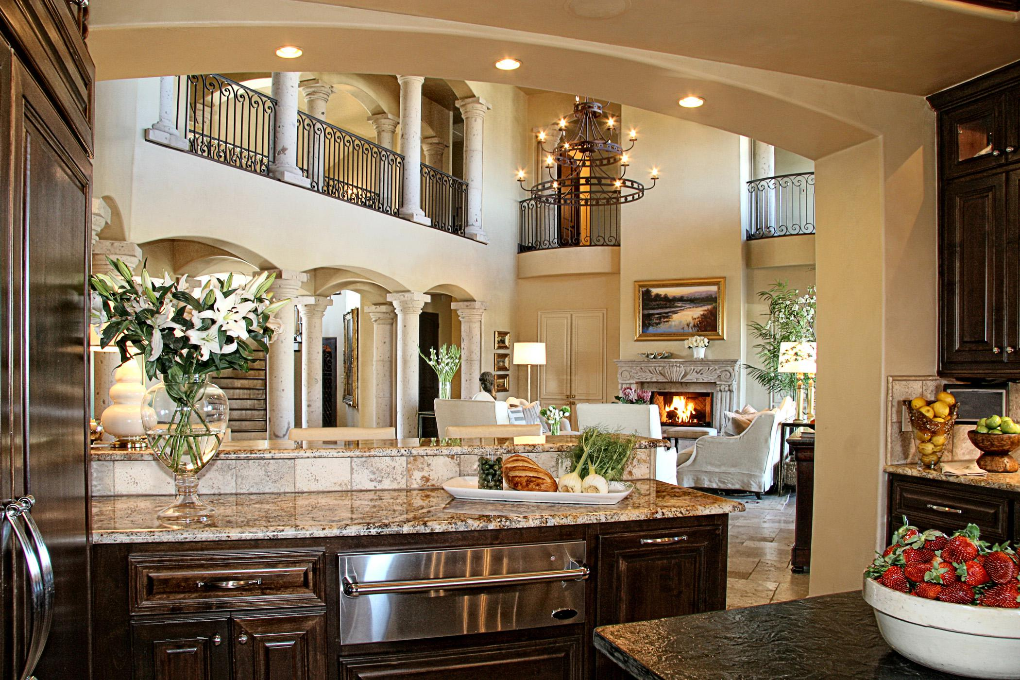 Image of: Modern Tuscan Design for Kitchen