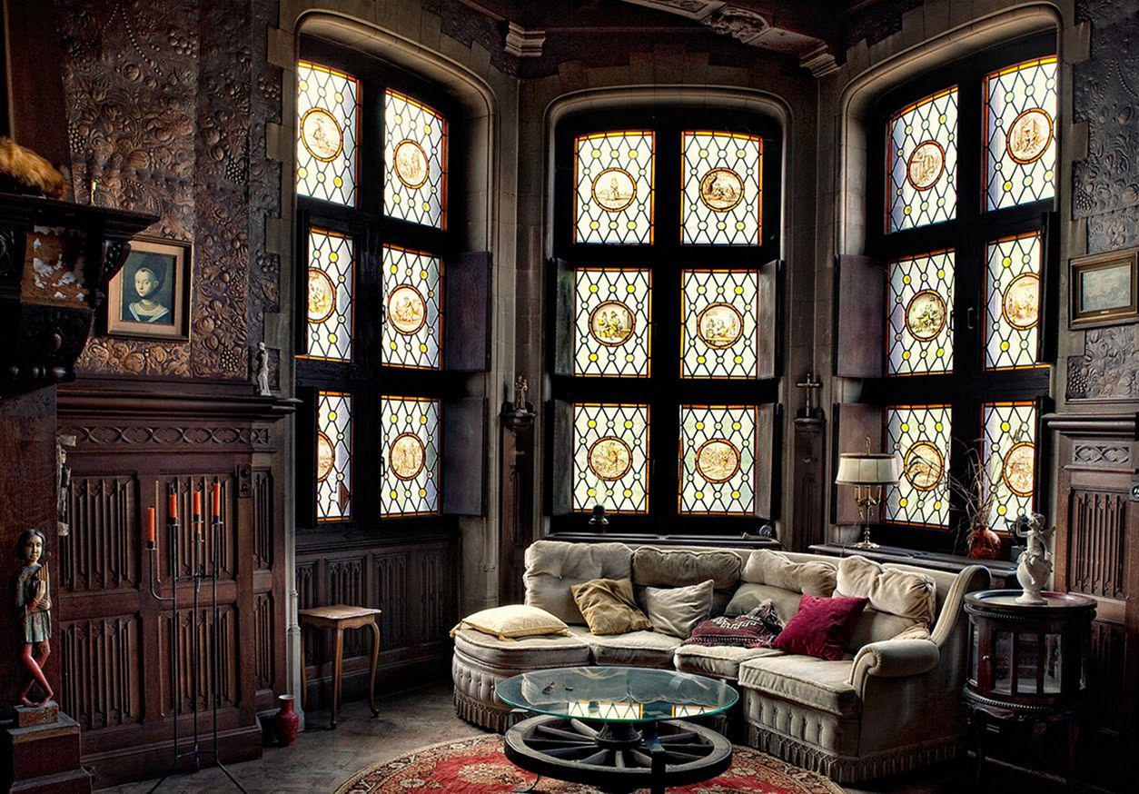 Image of: Modern Victorian Style Living Room