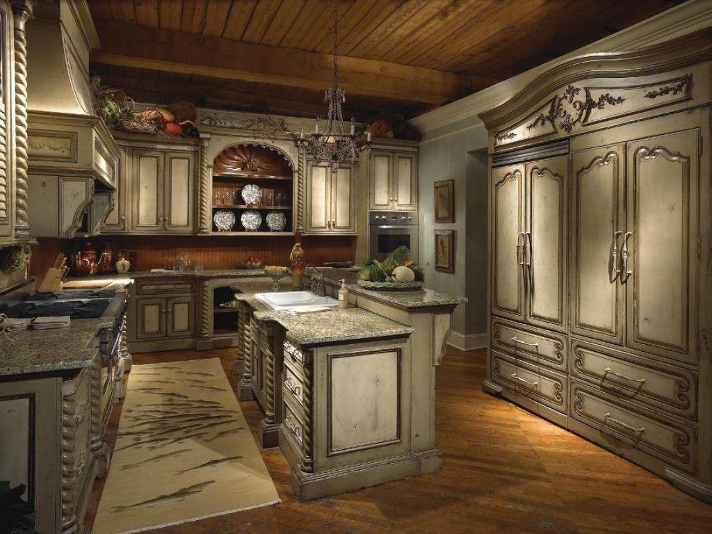 Image of: Old World Kitchens Photos