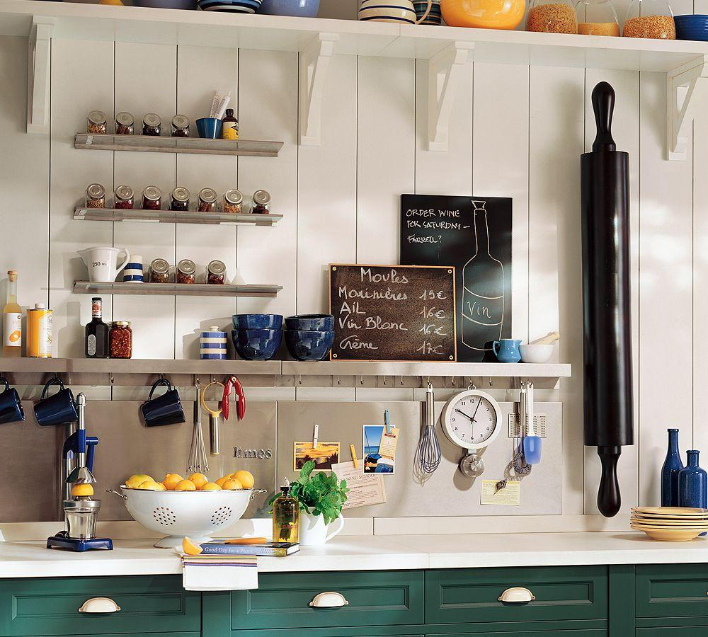 Image of: Organizing Small Kitchen Counters