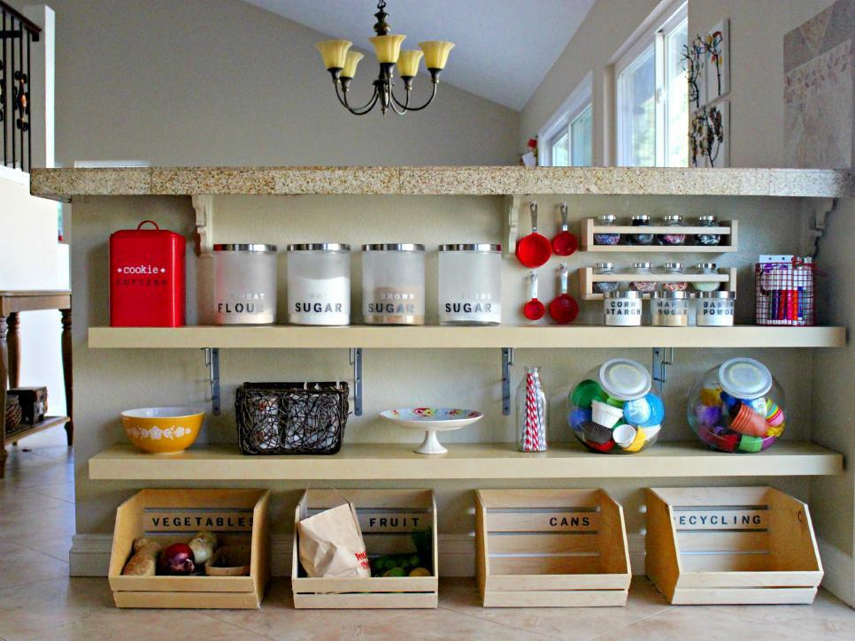 Image of: Organizing Small Kitchen