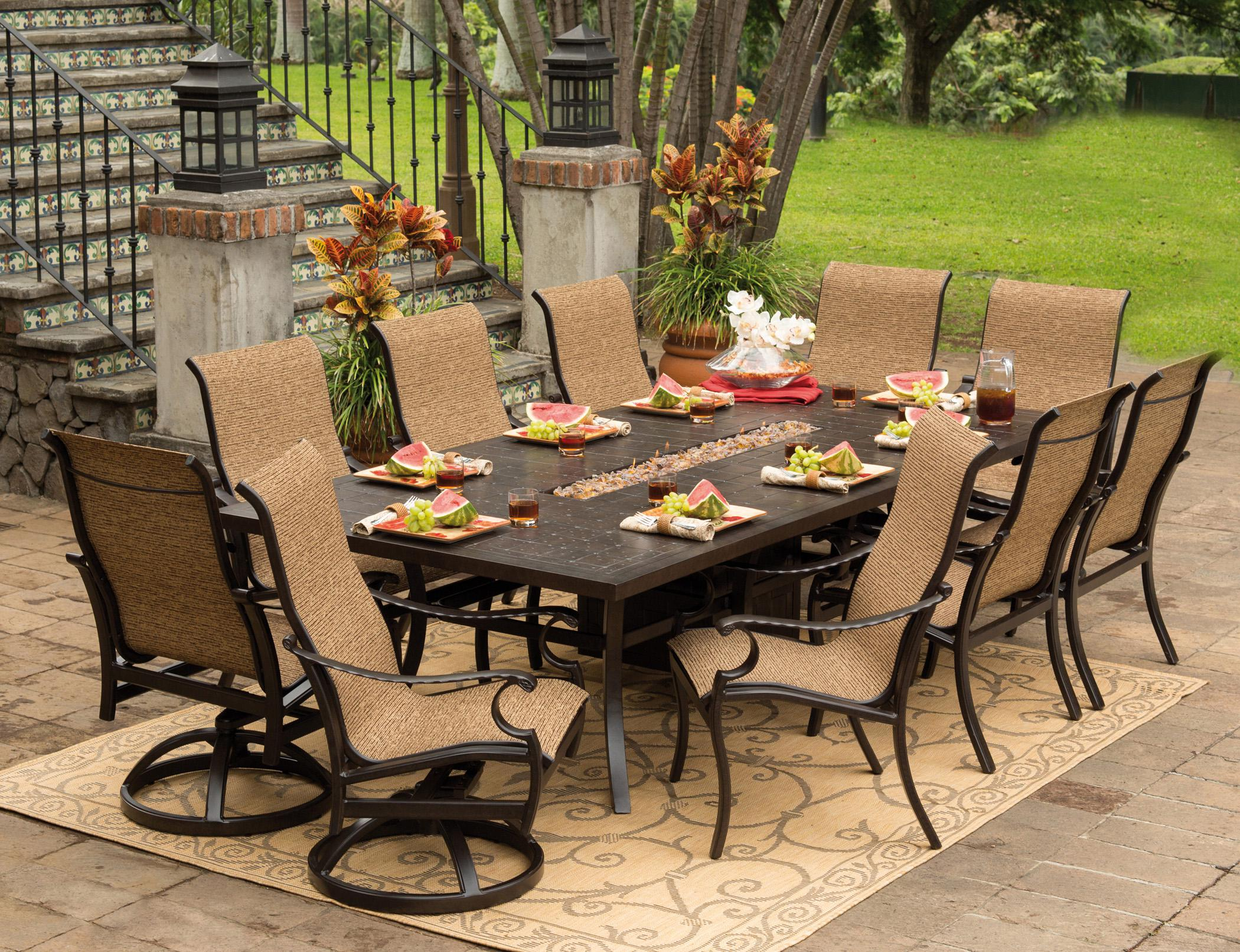 Image of: Patio Furniture Sets Target