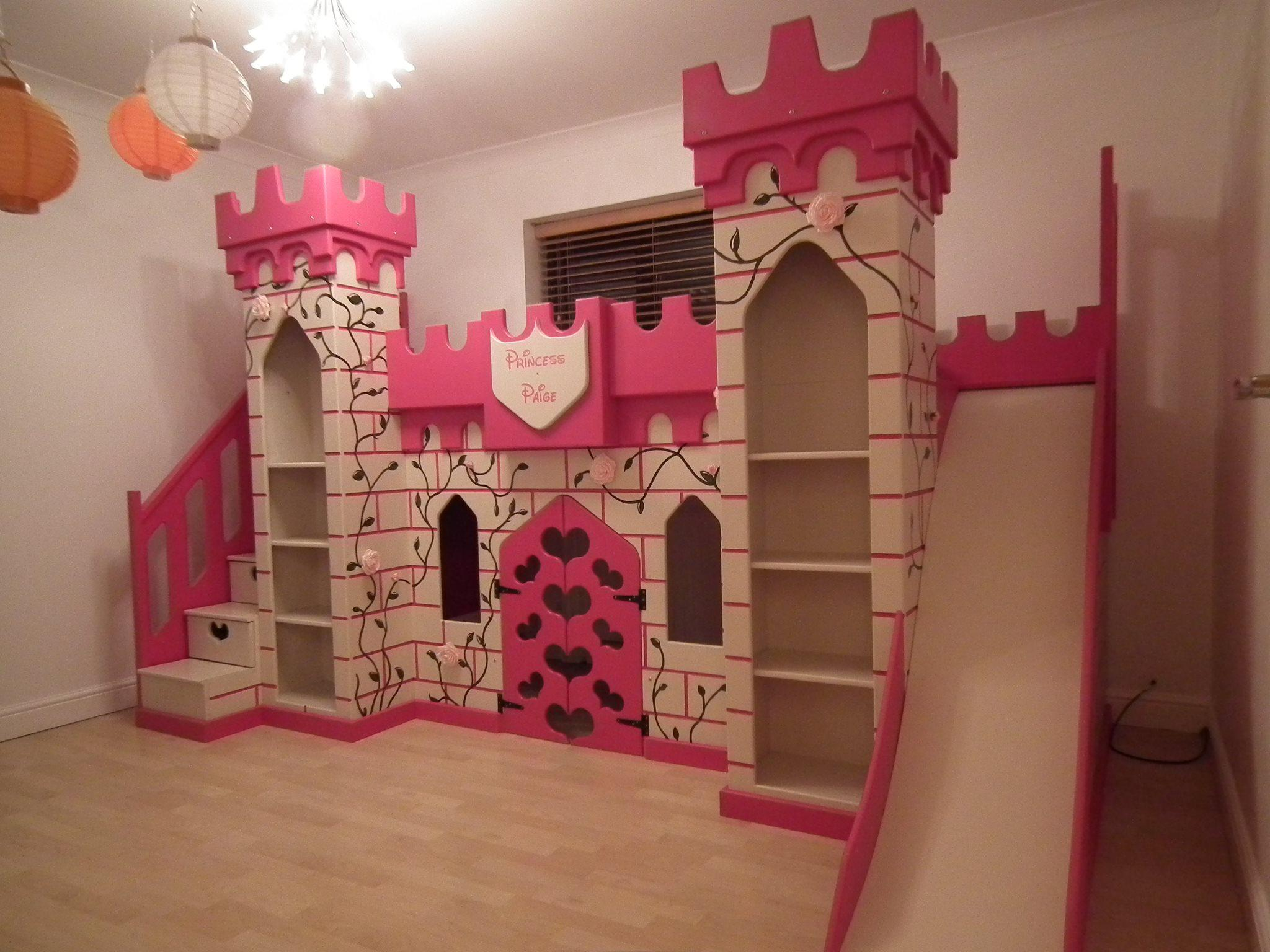 Image of: Princess Bunk Beds Diy