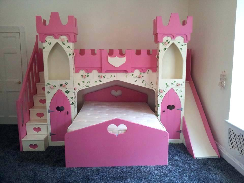 Image of: Princess Bunk Beds Plans