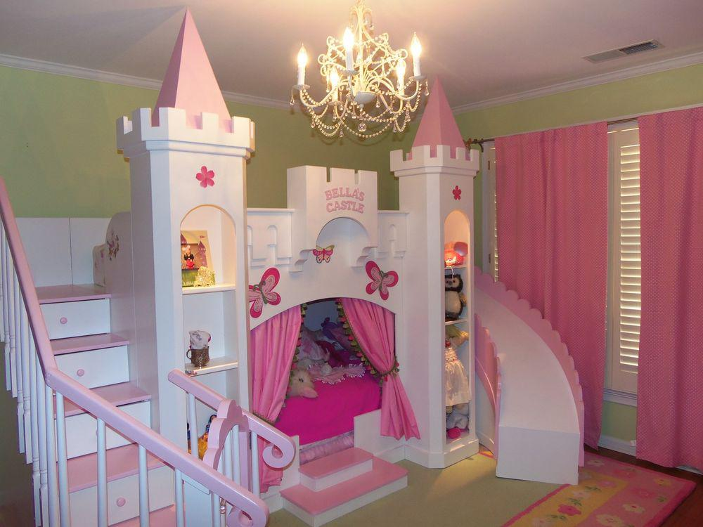 Image of: Princess Bunk Beds