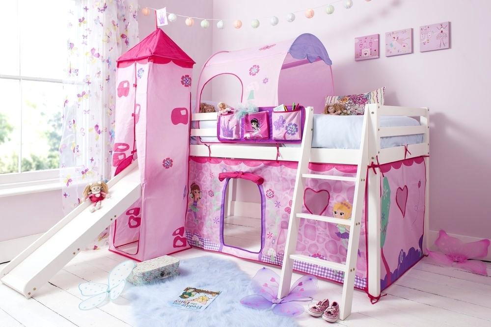 Image of: Princess Style Bunk Beds
