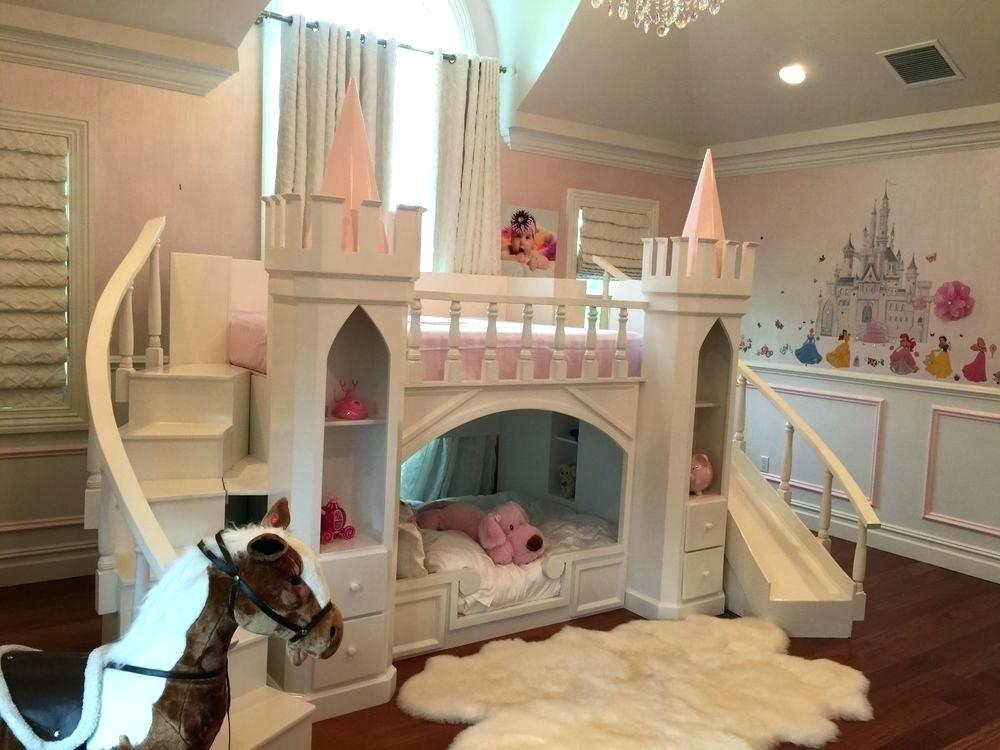 Image of: Princess Themed Bunk Beds