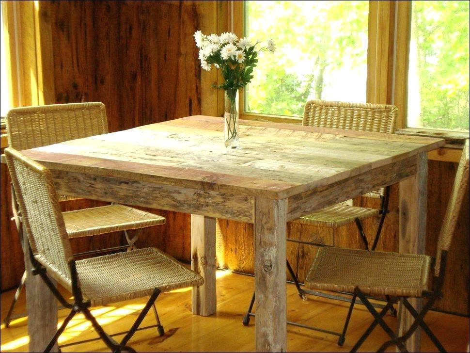 Image of: Rustic Farm Table And Chairs