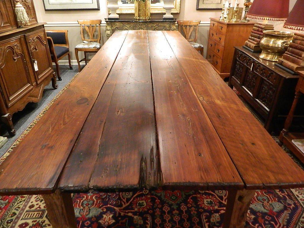 Image of: Rustic Farm Table Set
