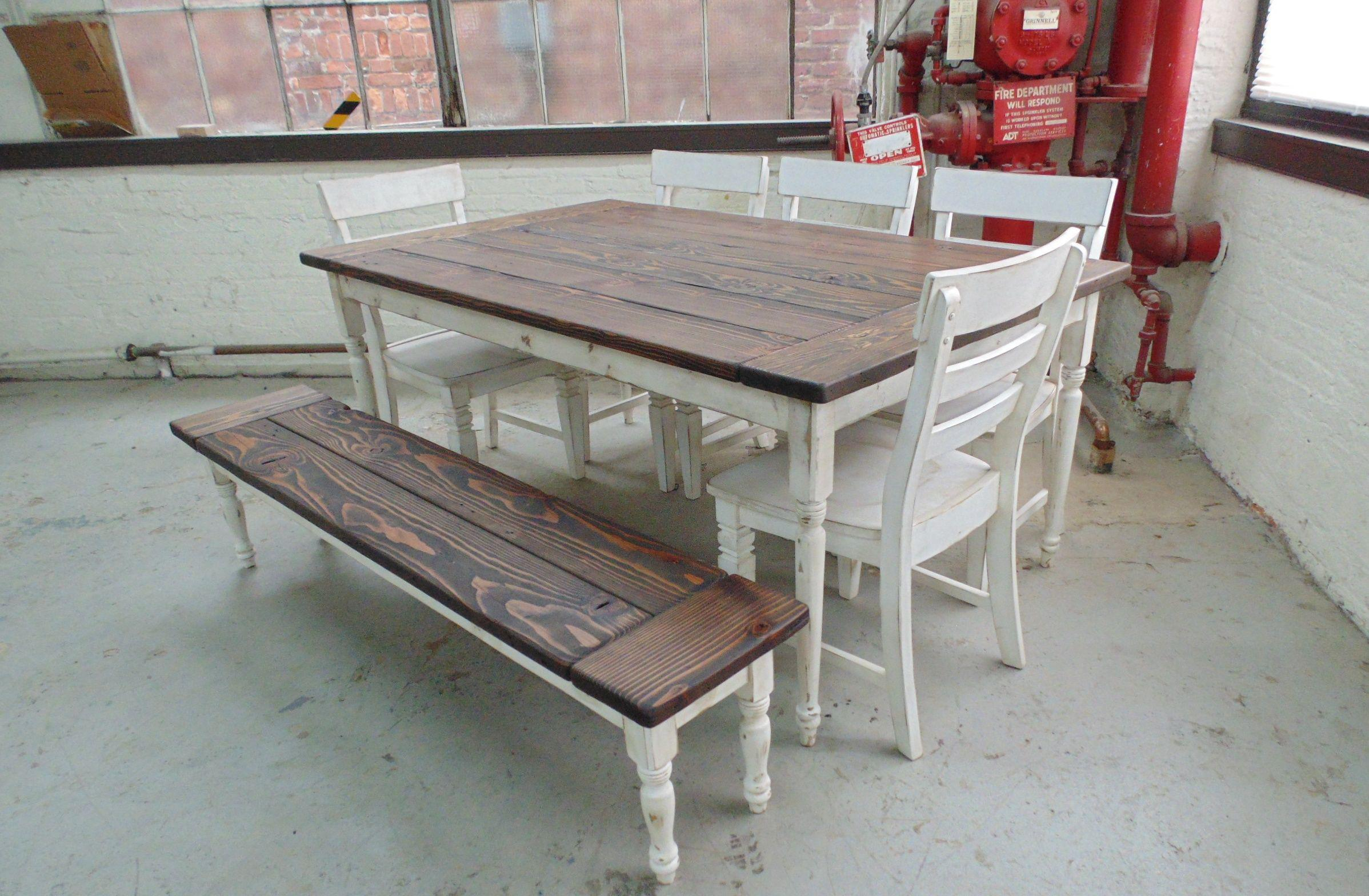 Image of: Rustic Farm Tables Near Me