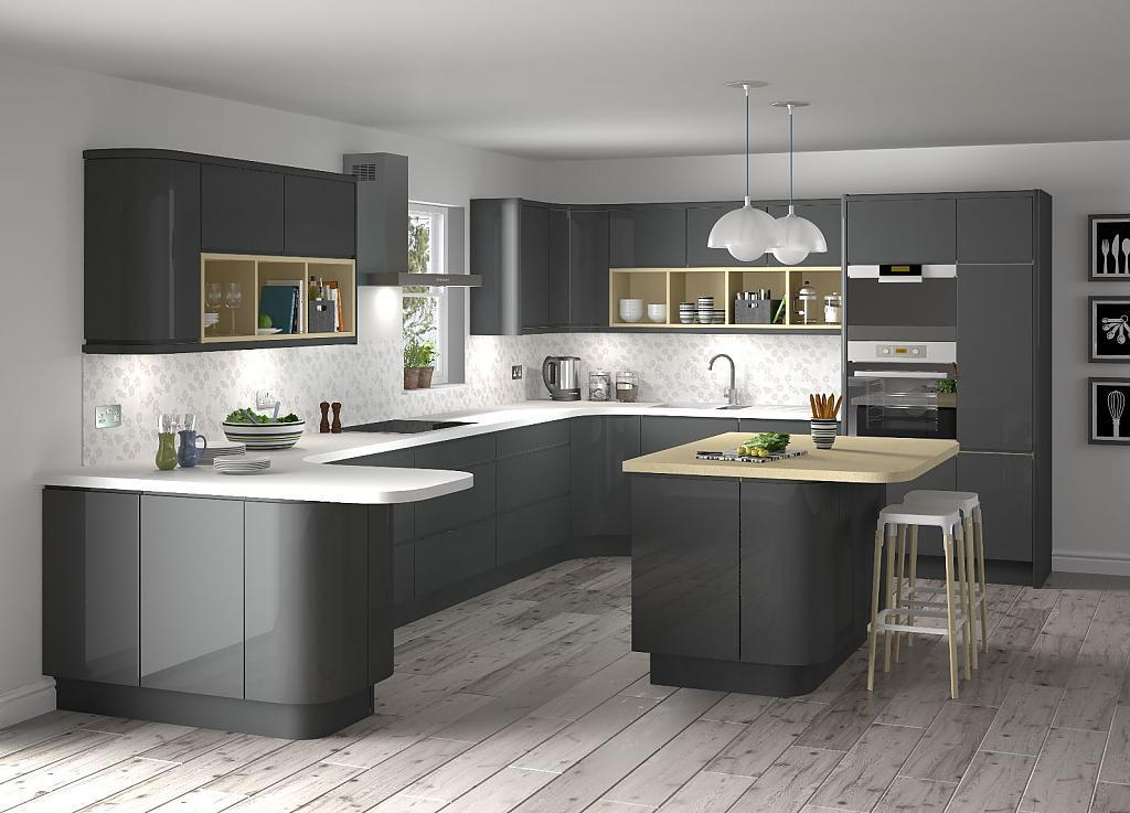 Image of: Simple And Cheap Modular Kitchen