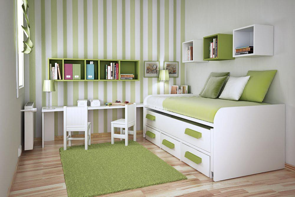 Image of: Simple Bedroom Design For Small Space
