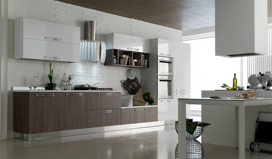 Image of: Simple Small Modular Kitchen