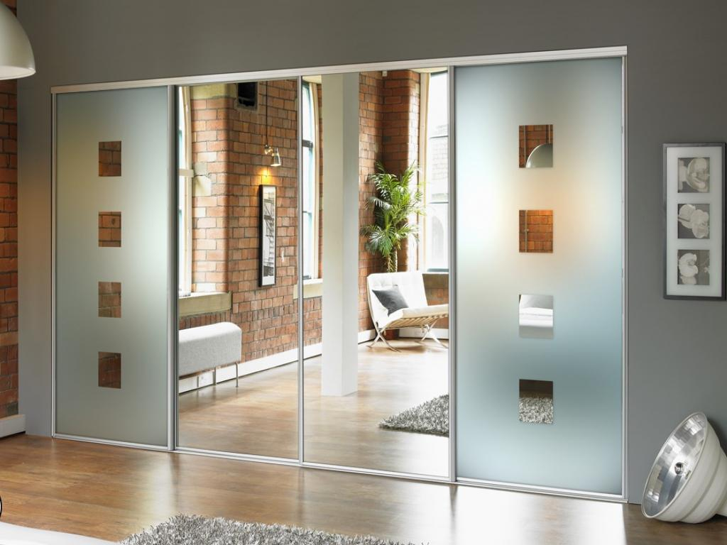 Image of: Sliding Doors Designs Glass