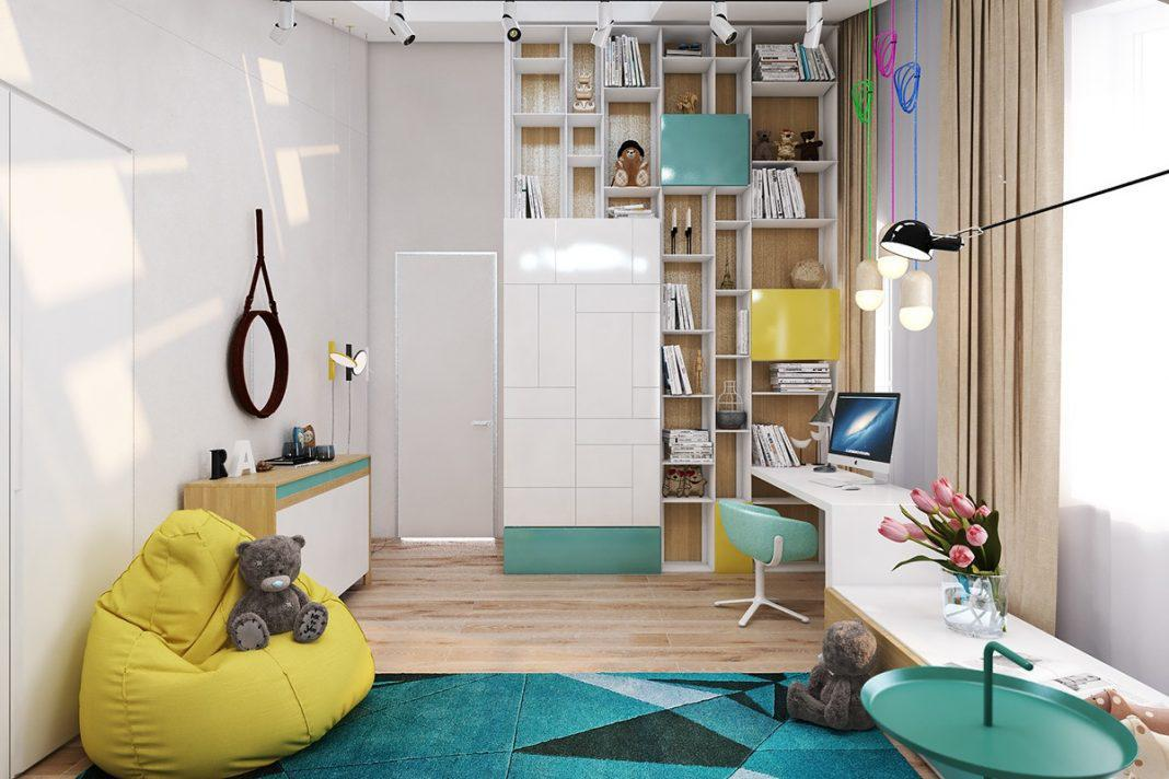 Image of: Small Child Room Design