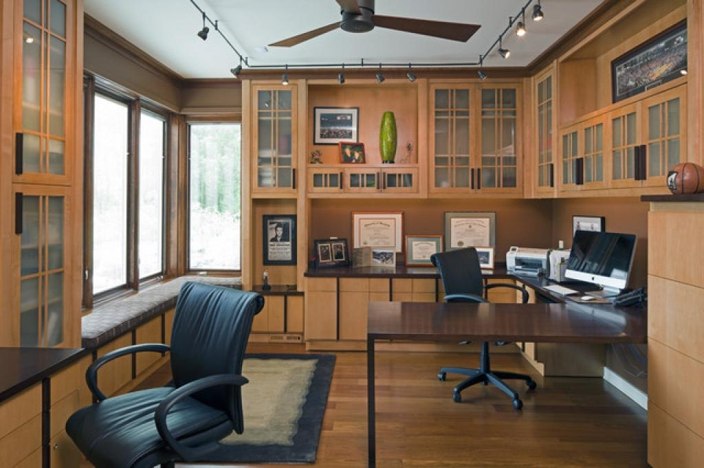 Image of: Small Home Office Designs And Layouts