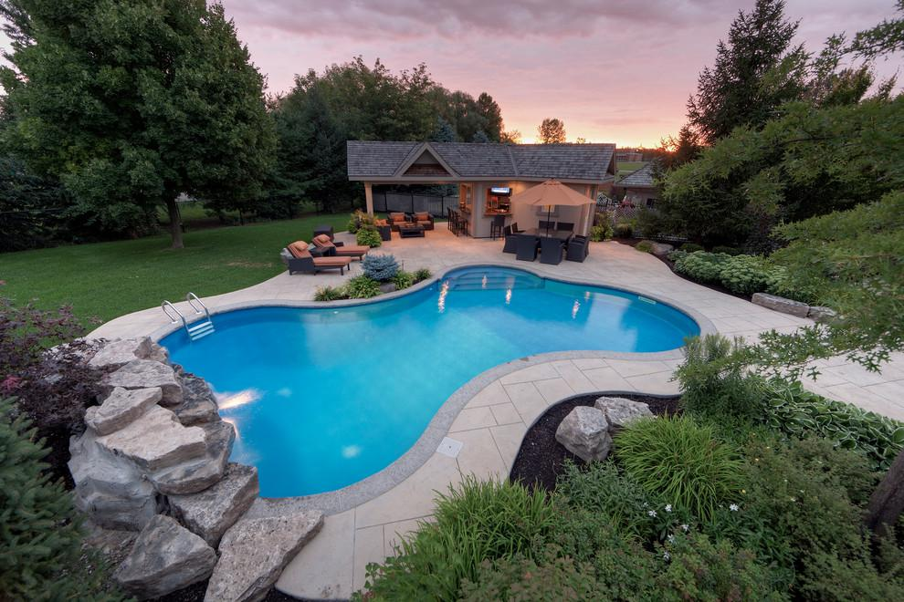 Image of: Small House Swimming Pool Design
