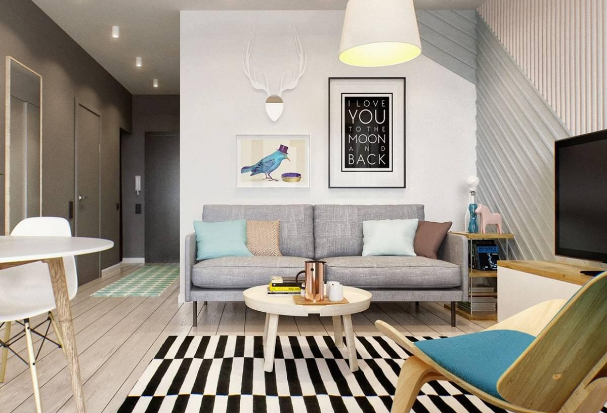 Image of: Small Living Room Apartment Ideas