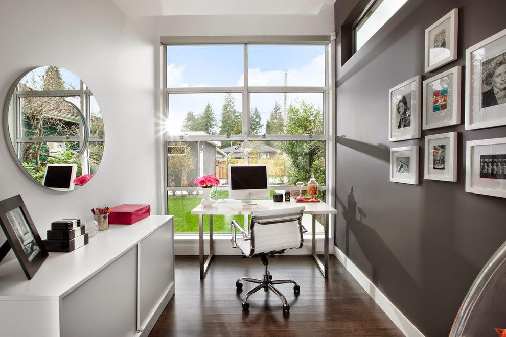 Image of: Small Office Design Inspiration