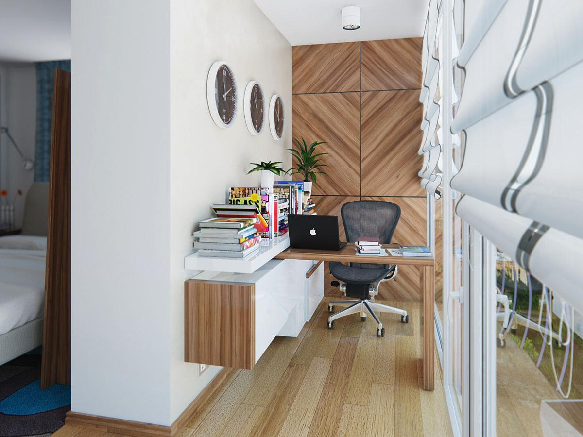Image of: Small Office Designs For Home