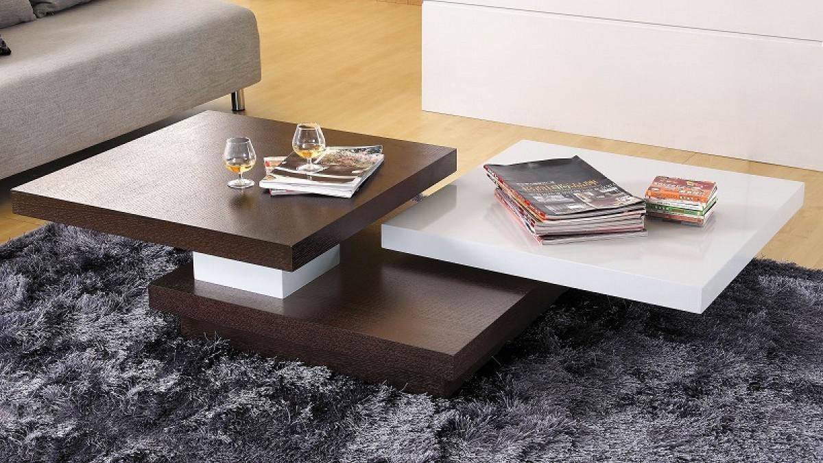 Image of: Stylish Wooden Coffee Tables