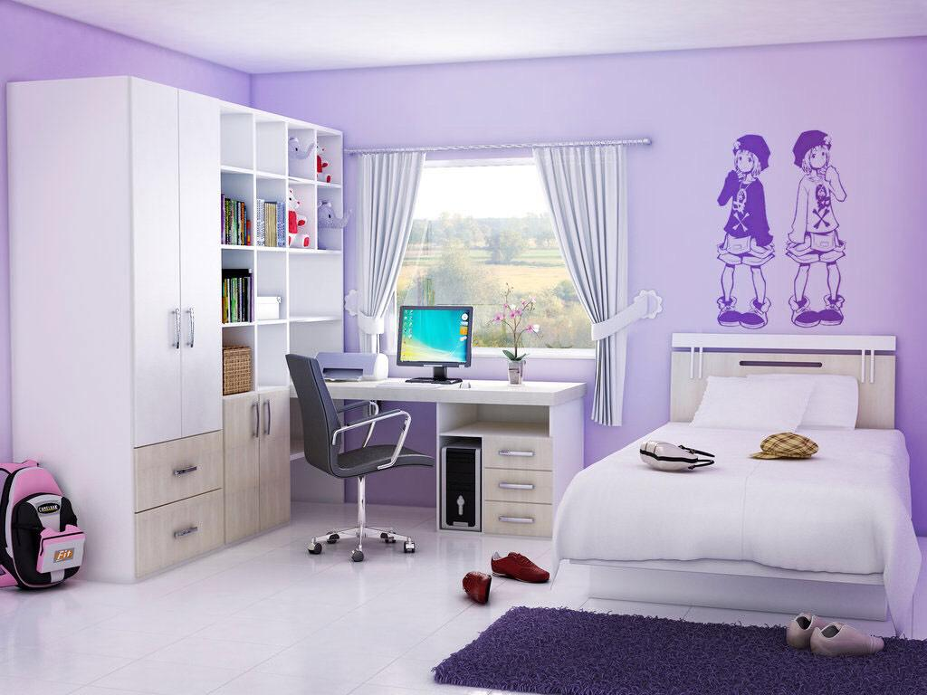 Image of: Teenage Bedroom Art Ideas
