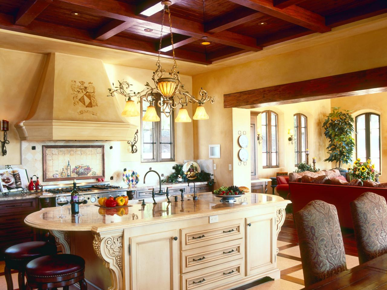 Image of: Tuscan Country Kitchen Design Ideas