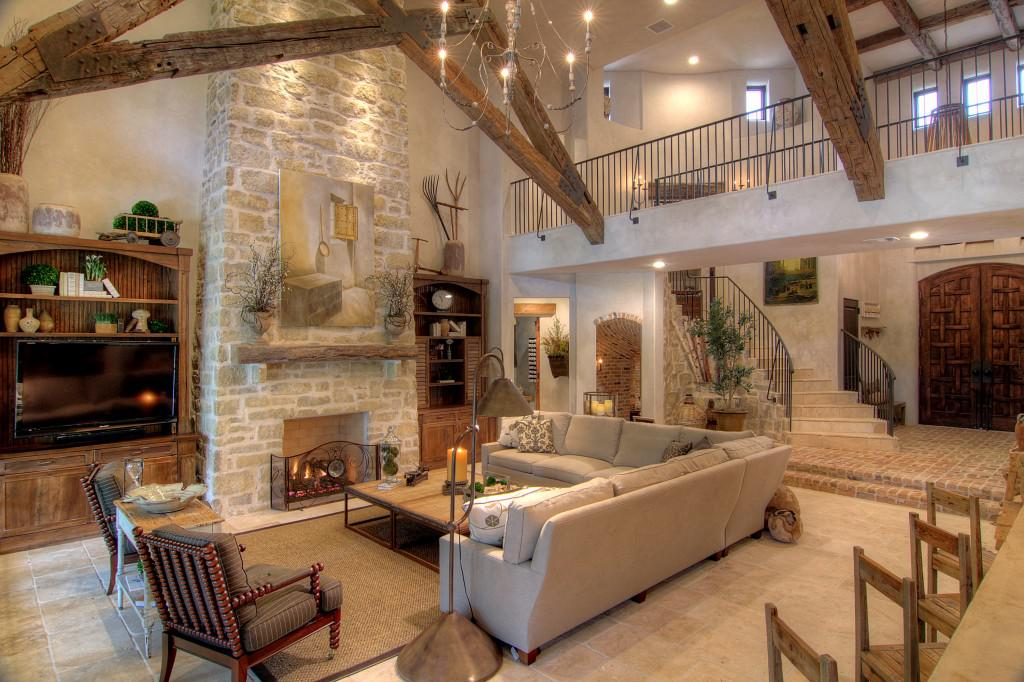 Image of: Tuscan Living Room Ideas