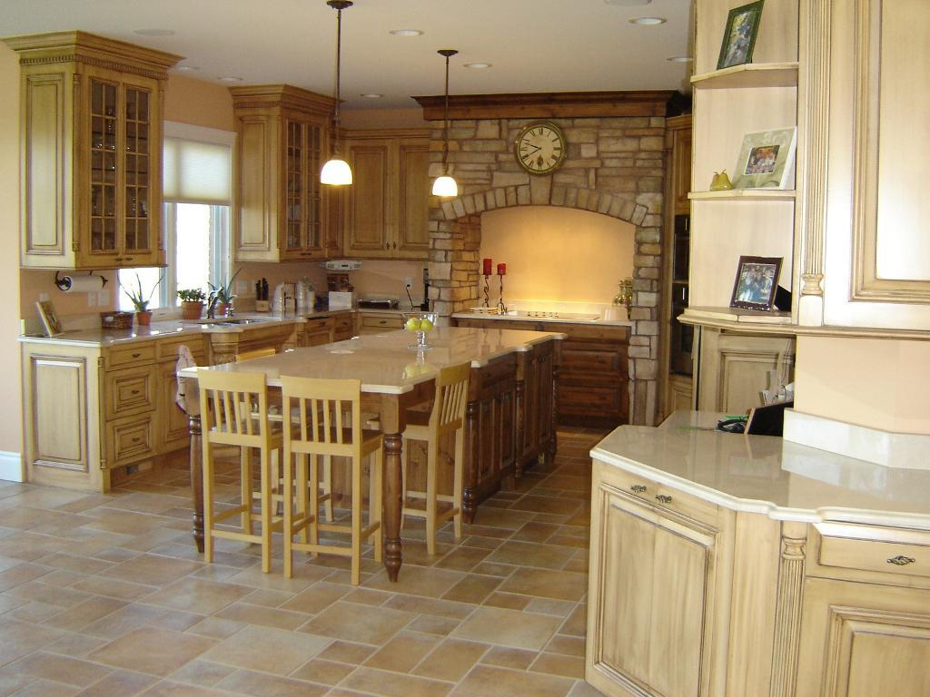 Image of: Tuscan Style Kitchen Design Ideas