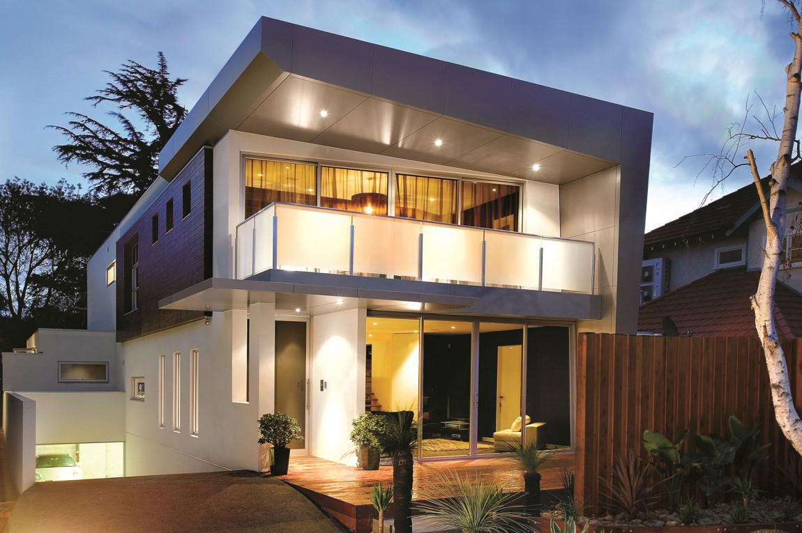 Image of: Two Story House Design