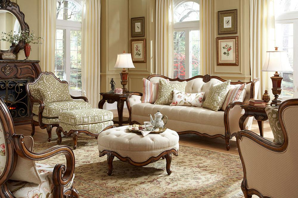 Image of: Victorian Style Living Room