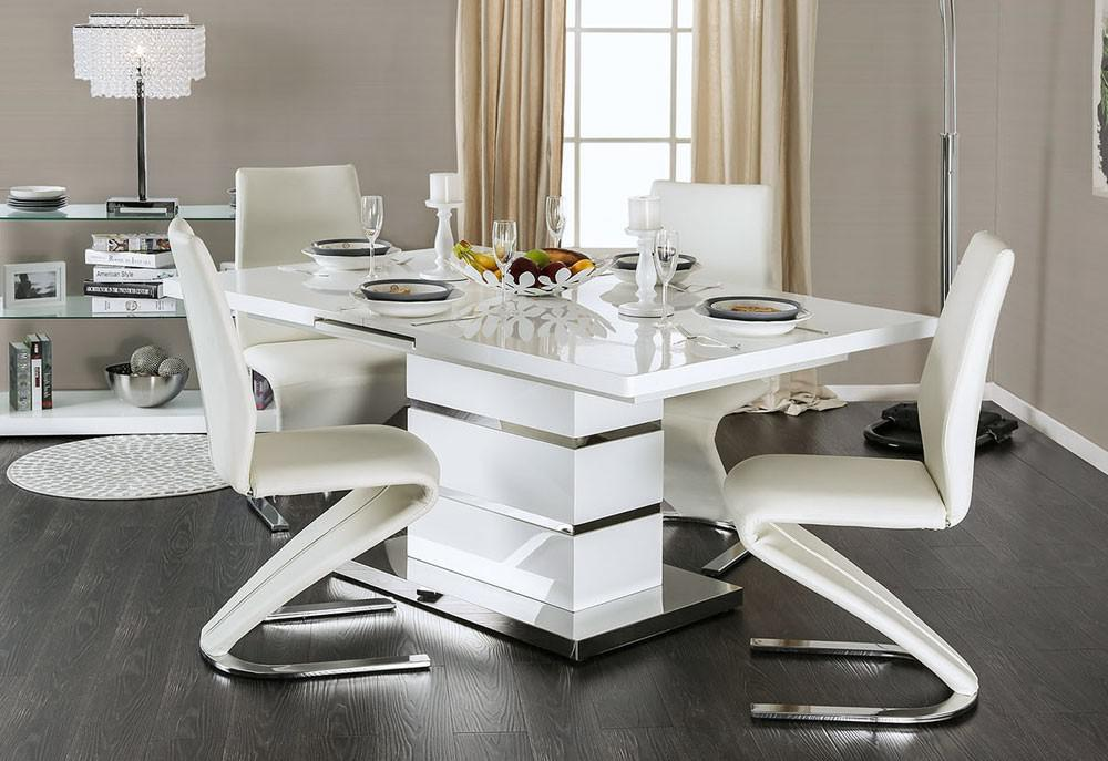 Image of: White Dining Table Ikea