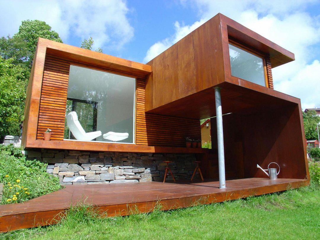 Wooden House Design Simple Design