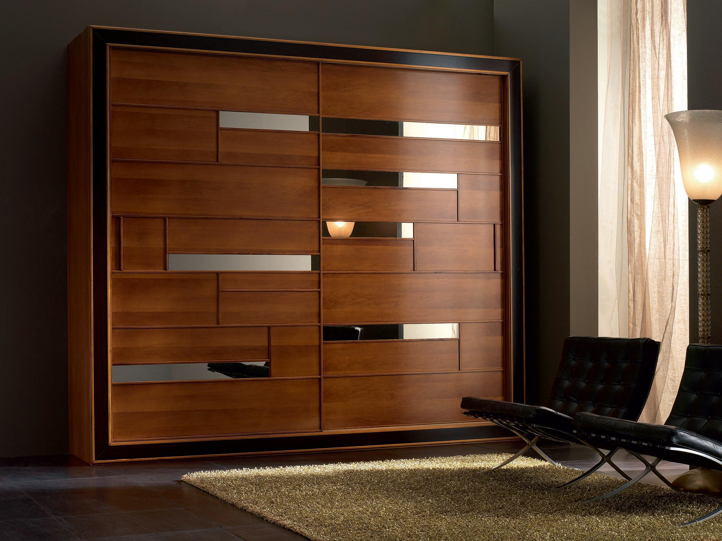 Image of: Wooden Wardrobe Cabinet