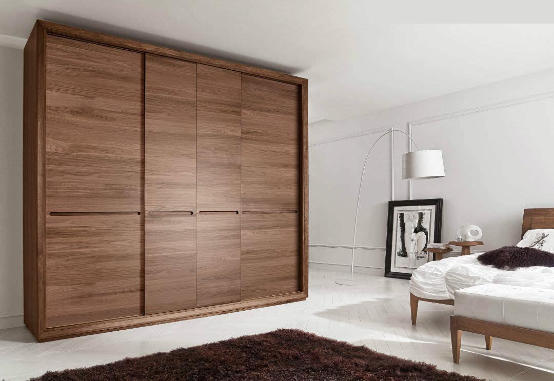 Image of: Wooden Wardrobe Doors