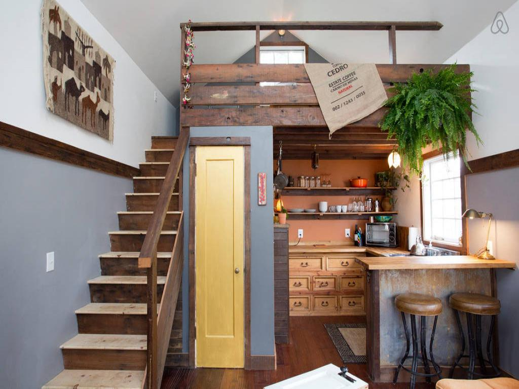 Image of: interior design for small house with stairs