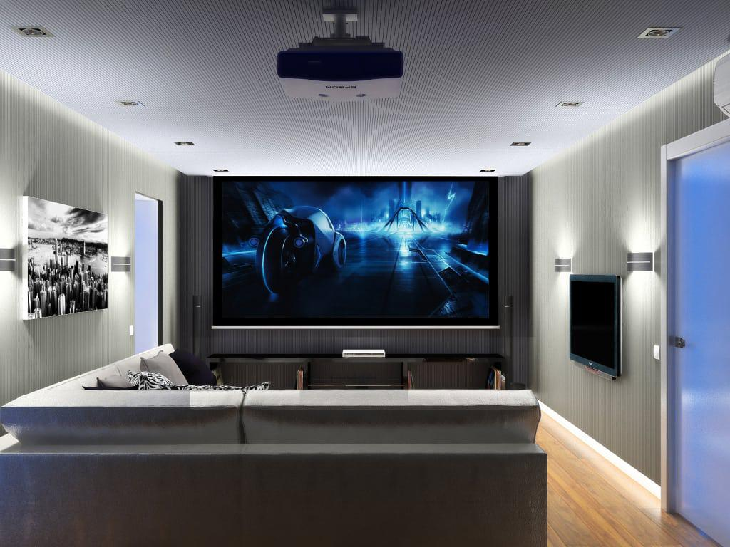 Image of: Home Movie Theater Decor