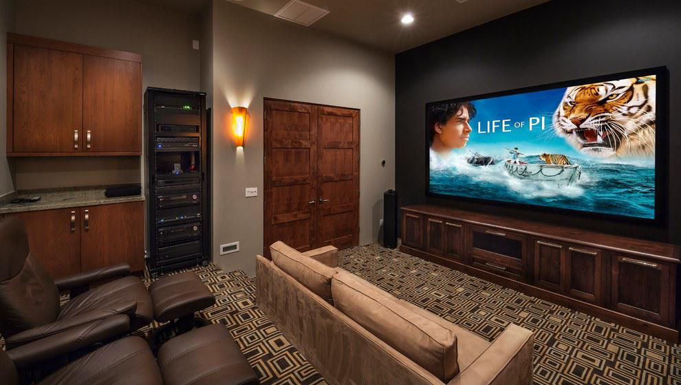 Image of: Home Movie Theater Room